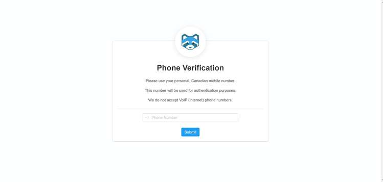06 Shakepay Phone Verification md